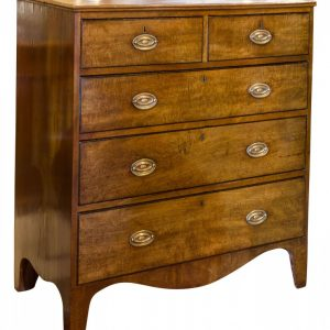Mahogany chest of drawers c1790 Antique Draws