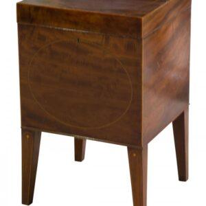 Sheraton square cellarette Antique Cabinets