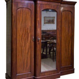 Victorian compactum wardrobe circa 1880 Antique Wardrobes