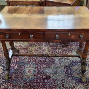 19th Century Rosewood Sofa Table Antique Tables