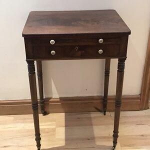 Lady's Georgian Cuban mahogany writing table Antique Tables