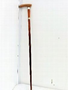 Gentleman's sword stick with horn and metal mount Miscellaneous