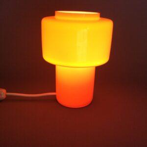 Mid Century Glass Lamp Mid Century Lamp Antique Lighting