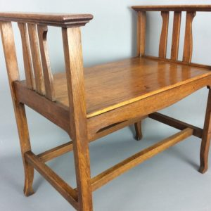 Arts and Crafts Window Seat Arts and Crafts Antique Stools