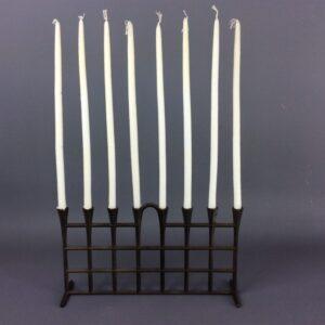 Dansk Jens Quistgaard Taper Candle Holder Cast Iron Candle Holder Antique Metals