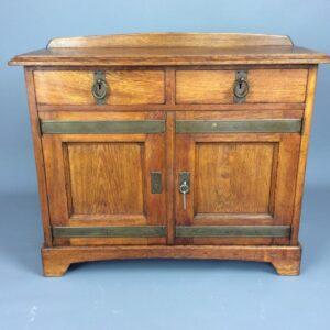 Arts and Crafts Oak Cupboard Arts and Crafts Antique Cupboards