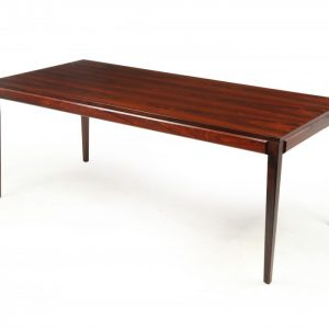 Swedish Mid Century Rosewood Coffee Table by Slutarp Antique Tables