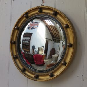 Butlers Porthole Convex Mirror butlers Antique Mirrors