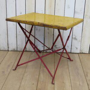 Vintage French Bistro Garden Table bistro Antique Furniture