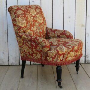 Antique French Tub Chair armchair Antique Chairs