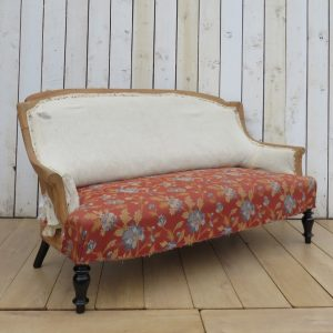 Antique French Sofa For Re-upholstery seating Antique Furniture