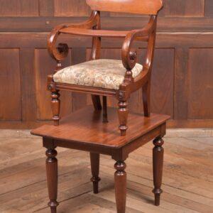 Victorian Mahogany High Chair SAI2274 Antique Chairs