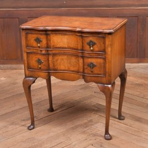 Edwardian Serpentine Chest By Bickers Of Dewsbury SAI2276 Antique Chest Of Drawers