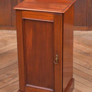 Victorian Mahogany Bedside Cabinet SAI2266 Antique Cupboards