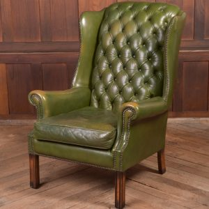 Chesterfield Wing Back Leather Chair SAI2287 Antique Chairs