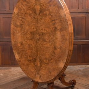 Victorian Burr Walnut Snap Top Table SAI2281 Antique Tables