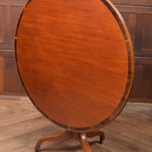 Regency Mahogany Snap Top Table SAI2302 Antique Tables