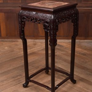 Chinese Marble Top Plant Stand SAI2306 Antique Furniture