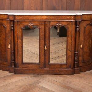 Victorian Walnut Marble Top Credenza SAI2313 Antique Furniture