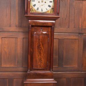 Victorian Mahogany Grandfather Clock J Adamson Of Friockheim SAI2308 Antique Clocks