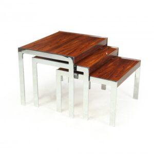 Mid century Nest of tables by Merrow Associates merrow Antique Tables