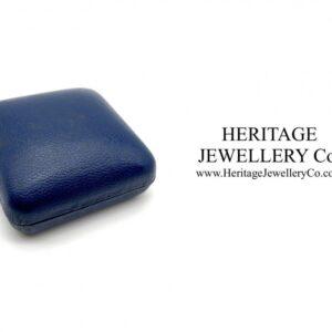 Vintage Leather Jewellery Box Antique Antique Jewellery