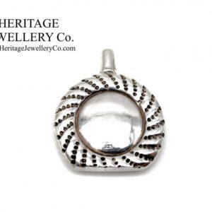 Beautiful Vintage (1992) Sterling Silver Scent Bottle Antique Antique Jewellery