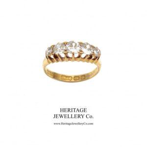 Victorian 5-Stone Diamond Ring (c.1886) Diamond Antique Jewellery