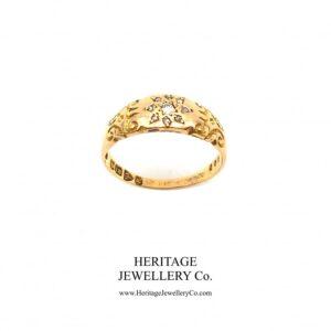 Victorian Diamond Gypsy Ring (c. 1900) Diamond Antique Jewellery