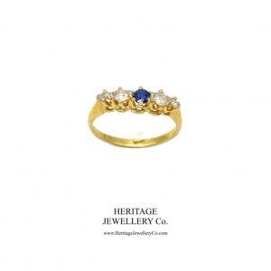 Antique Sapphire and Diamond Ring Antique Antique Jewellery