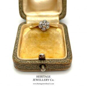 Antique Diamond Daisy Cluster Ring Diamond Antique Jewellery