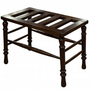 19thCentury mahogany luggage stand Miscellaneous