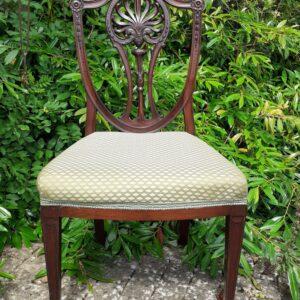 Georgian Hepplewhite side chair circa 1790 cuban mahogany Antique Chairs