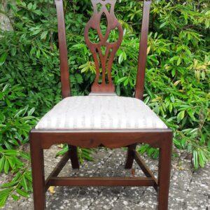 Rare Irish mahogany side chair circa 1780 chair Antique Chairs
