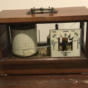 Barograph with barometer rare item Scientific Antiques
