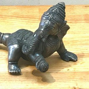 Indian Bronze Deity Georgian Antique Sculptures