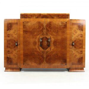 Art Deco Walnut Sideboard antique sideboard Antique Furniture