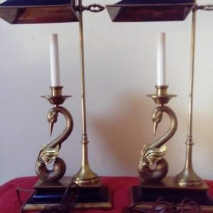 Rare vintage Chapman lamps Rare Chapman desk lamps Vintage