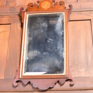 Edwardian Inlaid Wall Mirror SAI2320 Antique Mirrors