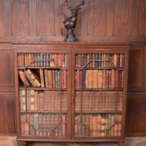 Edwardian Mahogany 3 Shelf Bookcase SAI2310 Antique Bookcases