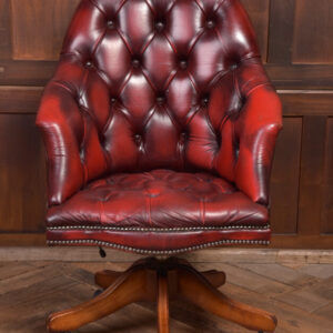 Red Chesterfield Desk Chair SAI2329 Miscellaneous