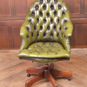 Green Chesterfield Desk Chair SAI2330 Miscellaneous