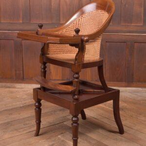 Edwardian Bergere High Chair SAI2339 Antique Chairs