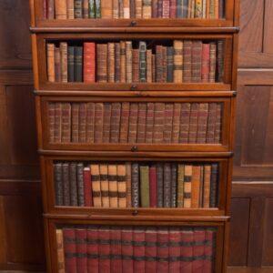 Edwardian Mahogany Globe Wernicke 5 Section Bookcase SAI2334 Antique Bookcases