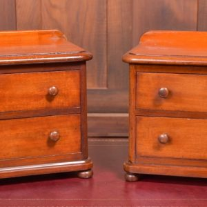 Pair Of Mahogany Chest Of Drawers SAI2341 Antique Chest Of Drawers