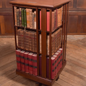Edwardian Revolving Bookcase SAI2353 Antique Bookcases