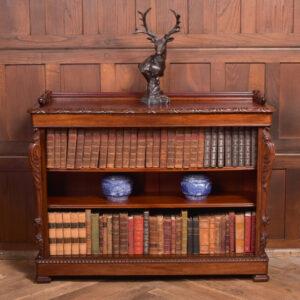Victorian Open Bookcase SAI2352 Antique Bookcases