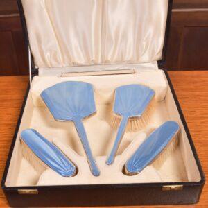 Dressing Table Set SAI2359 Antique Silver