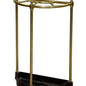 A brass demi-lune umbrella Miscellaneous