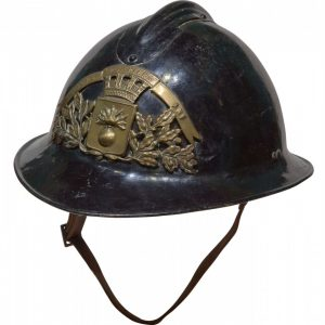 A French Fireman's Helmet Miscellaneous